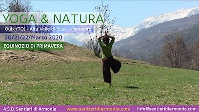 Week end Yoga & Natura - Weekend dell'equinozio di primavera tickets