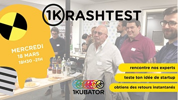 1krashTest - Viens pitcher ton idée de startup face à des experts