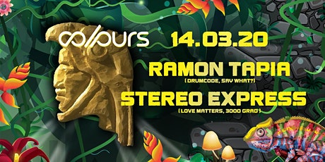 Colours with Ramon Tapia, Stereo Express Tickets