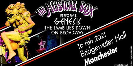 The Musical Box 2021 (Bridgewater Hall, Manchester) tickets