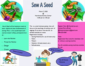 Sew A Seed Event tickets