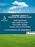 Public Open House: What's Your Vision for Dufferin County?