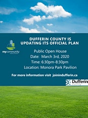 Public Open House: What's Your Vision for Dufferin County? tickets