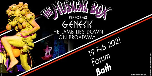 The Musical Box 2021 (The Forum, Bath)