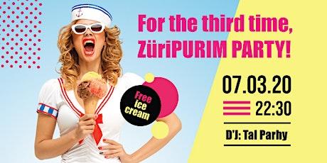 ZüriPURIM 3 Tickets