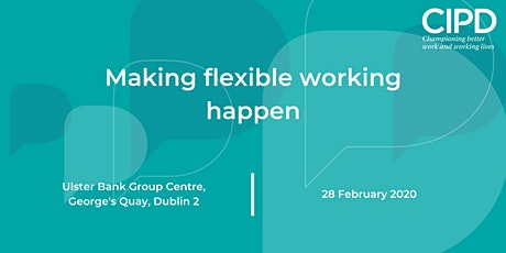 Making flexible working happen tickets
