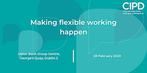 Making flexible working happen