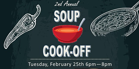 2nd Annual Soup Cookoff tickets