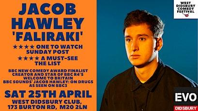 Jacob Hawley: Faliraki tickets
