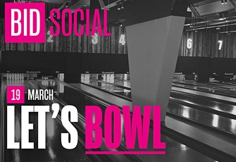 BID Social: Let's Bowl tickets
