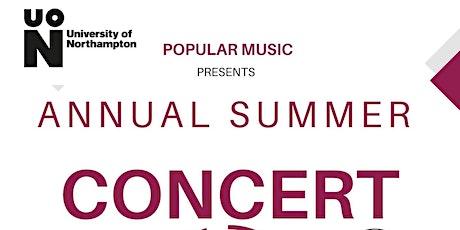 Popular Music Present's: Summer Annual Concert tickets