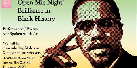 Open Mic Night : Brilliance in Black History tickets