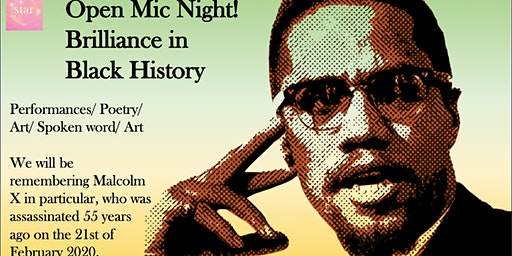 Open Mic Night : Brilliance in Black History