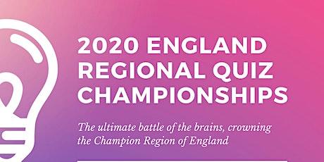 2020 England Regional Quiz Championships tickets