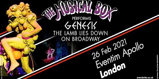 The Musical Box 2021 (Eventim Apollo, London)