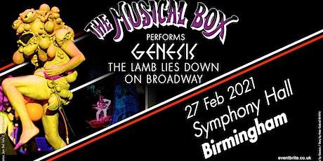 The Musical Box 2021 (Symphony Hall, Birmingham) tickets