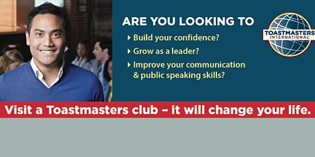 Toastmasters Event-held virtually tickets