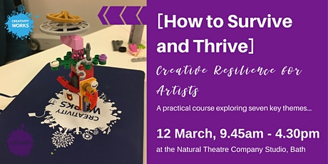 [How to Survive and Thrive] Creative Resilience for Artists tickets