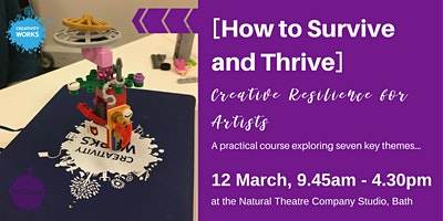 [How to Survive and Thrive] Creative Resilience for Artists