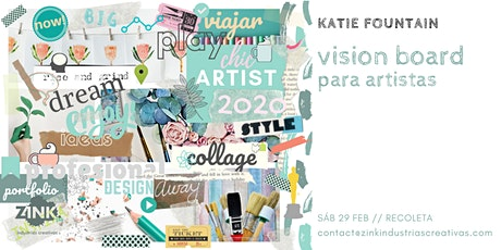 Vision board para artistas // Por Katie Fountain entradas
