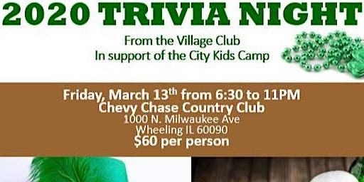 2020 Trivia Night from The Village Club of Lincolnshire