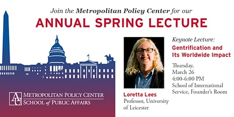 2020 MPC Annual Spring Lecture: Loretta Lees tickets