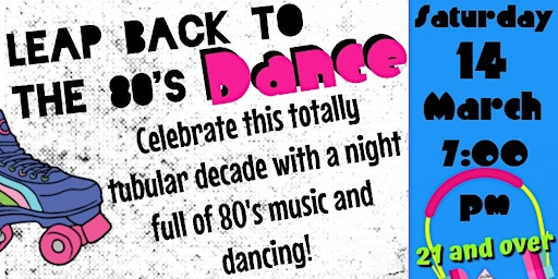 Leap Back to the 80's Dance