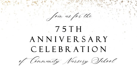 CNS 75th Anniversary Spring Fundraiser tickets