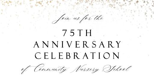 CNS 75th Anniversary Spring Fundraiser