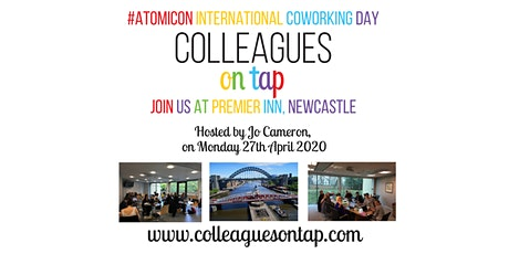 International Coworking Day - Colleagues on Tap tickets
