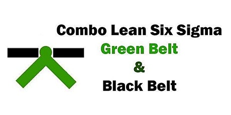 Combo Lean Six Sigma Green Belt and Black Belt Certification in Chattanooga tickets
