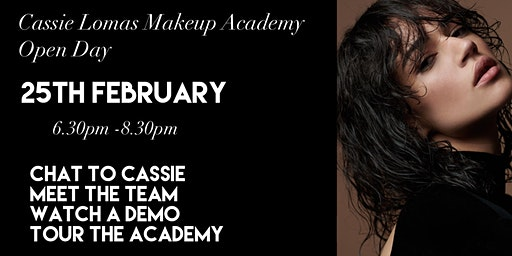 Cassie Lomas Makeup Academy Open Evening