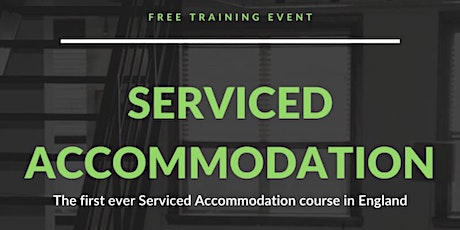 FREE Serviced Accommodation Course 1 Day HOLIDAY INN BLOOMSBURY LONDON tickets