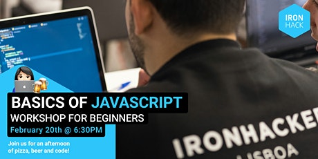 Basics of Javascript | Workshop for beginners tickets