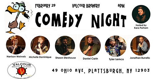 A Night of Comedy at Valcour Brewing Company