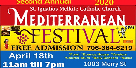 Mediterranean Food Festival tickets
