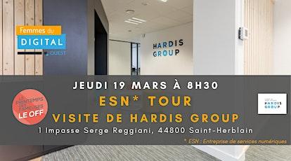 FDOuest I ESN TOUR : Visite de HARDIS Group billets