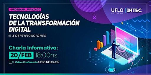 CHARLA INFORMATIVA: Programa Tecnologías de la Transformación Digital