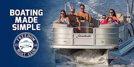 Freedom Boat Club - Yeti Cooler Giveaway at WNY Boat Show