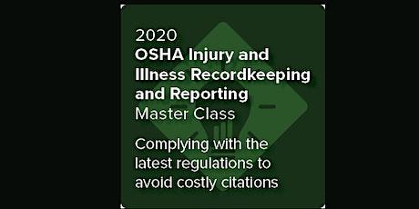 Indiana:OSHA Injury & Illness Recordkeeping & Reporting Master Class (ahm)S tickets