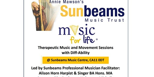 Sunbeams Theraputic Music and movement class