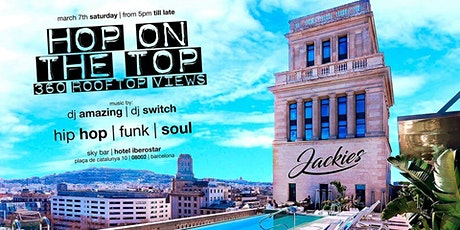 Jackies Pres: Opening Hop On The Top - Hip Hop, Funk & Soul Rooftop Party entradas