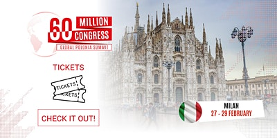 60 Million Congress - Global Polonia Summit_MILAN2020