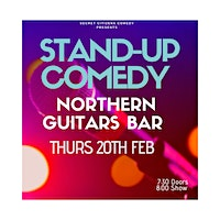 Secret Citizens Comedy at Northern Guitars