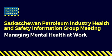 Information Group Meeting: Managing Mental Health at Work tickets