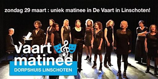 Vaartmatinee, unieke muzikale middag in dorpshuis de Vaart in Linschoten