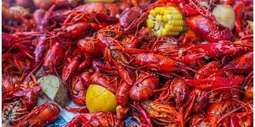 Mardi Gras Crawfish Boil with The Black Out Boys