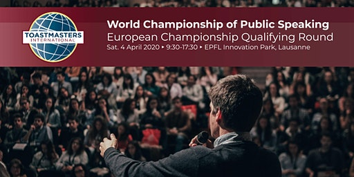 World Championship of Public Speaking - Qualifying Round for European Level