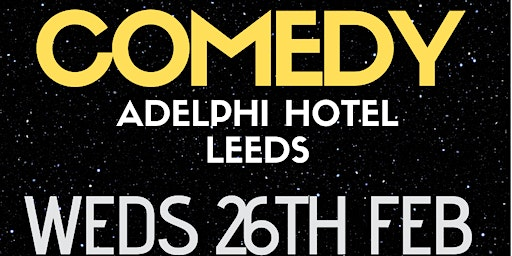 Secret Citizens Comedy at the Adelphi