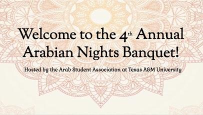 ASA Arabian Nights Banquet tickets
